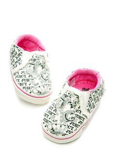 JUICY COUTURE BABY Girls' Newborn Juicy Sneaker