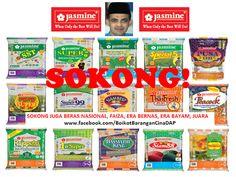 Jihad Halal Research Group: SOKONG Beras Keluaran Jasmine Food Corporation