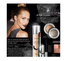 """""""Beauty After Dark"""" by thewondersoffashion ❤ liked on Polyvore featuring beauty, Christian Dior, Givenchy, Clinique and Essie"""