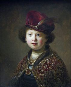 A Boy in Fanciful Costume,  Rembrandt van Rijn (1606–1669) (studio of),  The Wallace Collection
