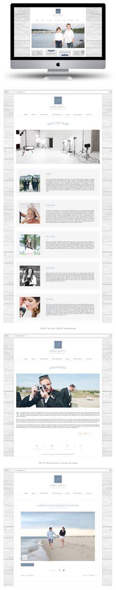 Custom ProPhoto Website Design by Tiffany Kelley Design :: Web Design #design #designer #graphicdesign #graphicdesigner #webdesign #webdesigner #designproject #branding #branddesign #brandidentity #photographerbranding #brandboard #wordpress #prophoto #brandstylist #brandstyling
