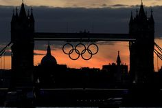 Sunset at the 2012 London Olympics