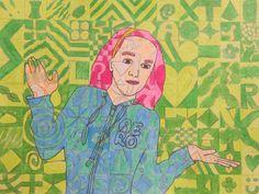 Spot of Color: Chuck Close