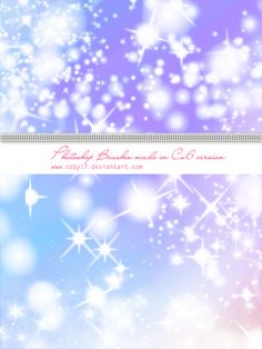 Glitters and Sparkles Brushes HQ by Coby17.deviantart.com on @deviantART