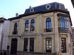 Palacete de Indalecio Corujedo en Grado. Arquitectura culta. © Juan Luis Menéndez. 2661