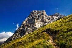 Gran Sasso from Prati di Tivo, Abruzzo Italy. Photo by Claudio Cavalensi