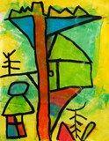 Paul Klee Magic Tree House from Alum Creek Elementary School Kindergarten Art, Preschool Art, Paul Klee Artwork, Painting For Kids, Art For Kids, Magic Treehouse, Art Activities For Kids, Art Lessons Elementary, Art Lesson Plans
