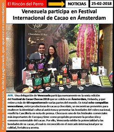 Venezuela participa en Festival Internacional de Cacao en Ámsterdam