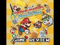 Paper Mario Sticker Star (3DS) Game Review