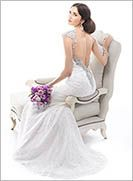 Low back wedding gown Brandy - by Maggie Sottero