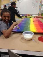 5th Grade Legacy is Chugging Along! Learn about our most recent leg of the journey! #artedchat