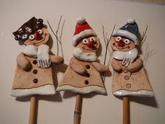 23 Clever DIY Christmas Decoration Ideas By Crafty Panda Christmas Clay, Christmas Crafts, Christmas Ornaments, Hobbies And Interests, Pottery Barn Kids, Pottery Ideas, Air Dry Clay, Baskets On Wall, Christmas Decorations To Make