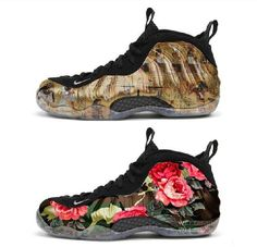 separation shoes e55b9 1f8a8 Nike Air Foamposite with these two customs  The