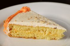 genoise with orange curd and grand marnier buttercream.