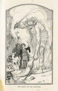 Pen and ink fantasy illustration