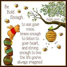 Winnie the Pooh quotes are helpful for every aspect of life. These Winnie the Pooh quotes will help you to discover your own Hundred Acre Wood. Life Quotes Love, Me Quotes, Motivational Quotes, Inspirational Quotes, Friend Quotes, Strong Quotes, Honor Quotes, Life Quotes Disney, Best Disney Quotes
