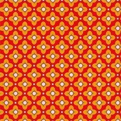 Orange and Red Geometric Fabric - Heather Bailey Bijoux Tiled Primrose - Modern Orange Quilting Fabr Gingham Fabric, Red Fabric, Check Fabric, Cool Fabric, Orange Quilt, Heather Bailey, Free Spirit Fabrics, Geometric Fabric, Orange Background