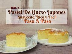 Pastel De Queso Japonés Esponjoso y Rico Paso a Paso - YouTube