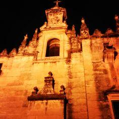 Cordoba la mesquita per la nit Espanya