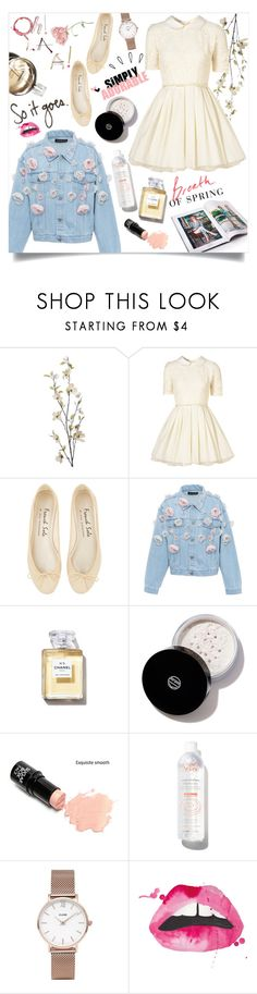 """Breath Of Spring"" by arwitaa on Polyvore featuring Pier 1 Imports, Jones + Jones, Anouki, Chanel, Koh Gen Do, Avène, CLUSE and Old Navy"