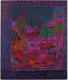 "John McAllister  Darksome Almost Dawn, 2011   Oil on canvas   58"" x 49"""