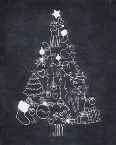 I should wipe the floor: a free chalk for printable Christmas tree . printables christmas printables before christmas printables before christmas printables free christmas printables Christmas Tree Cards, Noel Christmas, Simple Christmas, Christmas Crafts, Christmas Decorations, Amazon Christmas, Christmas Christmas, Christmas Loading, Scandi Christmas
