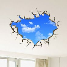 Fashion 3D sticker Wall Sticker 50*70CM Paster Art Home Decor Livingroom Bedroom Waterproof stickers(China (Mainland))