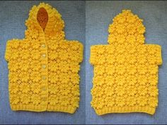 How to Make a Crocheted Flower Coat - ✁ CK Crafts