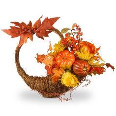 Co National Tree Harvest Autumn Cornucopia Basket Vases Decor, Centerpieces, Artificial Pumpkins, Artificial Floral Arrangements, Pumpkin Topiary, Thanksgiving Wreaths, Fall Wreaths, Sunflower Wreaths, Fall Table