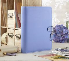 A5 Planner Kit Periwinkle Color Crush Webster's Pages (IN STOCK) FREE WASHI TAPE