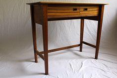Walnut Writing Desk on Behance