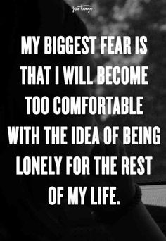 Loneliness affects everyone at one point or another in their lives and that's OK. These 25 lonely quotes about being alone sum up what loneliness and being single (and sad) feels like and will remind you that you're not alone, even if you feel like it. Quotes Dream, Life Quotes Love, Great Quotes, Quotes To Live By, Inspirational Quotes, Unique Quotes, Now Quotes, Words Quotes, Sayings