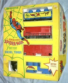 Amazing Spider, Spiderman, Train, Superhero, Toys, Spider Man, Activity Toys, Clearance Toys, Gaming
