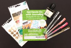 Journaling demo at JoAnn Fabrics and Crafts - March 18, 2017 in Maplewood, MO.