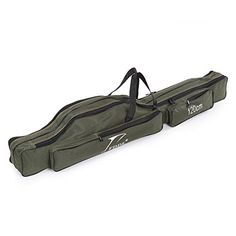 Docooler Portable Folding Fishing Rod Carrier Canvas Fishing Pole Tools Storage Bag Case Fishing Gear Tackle - http://fishingrodsandreels.nationalsales.com/docooler-portable-folding-fishing-rod-carrier-canvas-fishing-pole-tools-storage-bag-case-fishing-gear-tackle/