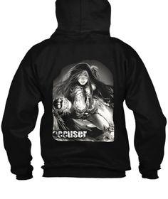 Witchblade Nasty Black T-Shirt Back