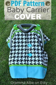 Ideas For Diy Baby Carrier Cover Blankets Sewing For Kids, Baby Sewing, Baby Carrier Cover, Best Baby Gifts, Baby Crafts, Baby Patterns, Sewing Patterns, Baby Accessories, Baby Quilts