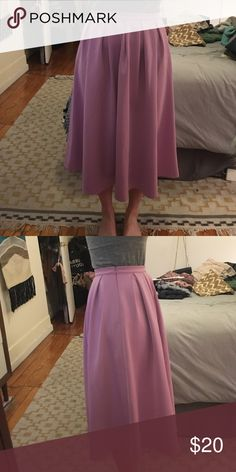 Full Swing Skirt Beautiful lilac skirt. Only worn once. UK size 10 fits US size 6 Missguided Skirts