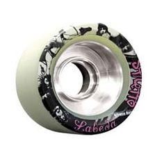Labeda Stiletto Pro White Speed Wheels :: Quad Skate Wheels :: Skate Wheels :: Planet On Wheels
