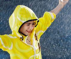 Let it rain! Kupla raincoat, Kuper shirt.