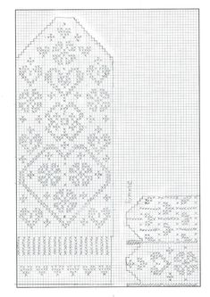 Knitting Charts Socks Libraries Ideas For 2019 Knitting Machine Patterns, Knitting Charts, Easy Knitting, Loom Patterns, Knitting Socks, Knitting Stitches, Mittens Pattern, Knit Mittens, Crochet Unicorn Hat