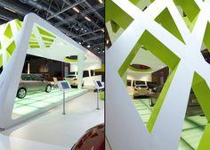 KIA stand at Paris Motorshow / IAA, Gunther Spitzley, Paris exhibit design