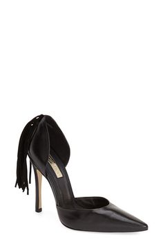 Topshop Topshop 'Game Courts' Fringe Pump (Women) available at #Nordstrom