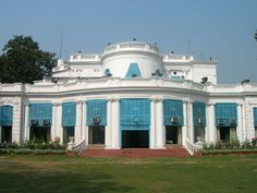 Tollygunge Club Kolkata India. This was one of the country clubs that the empire builders frequented in the days of the British Raj. Alcohol played a large role in the era of the British Raj, mainly due to the absence of anything else that was safe to drink. It was believed that the best way to deal with unclean water was to mix it with alcohol. Photo: wkitravel.com/visit/india