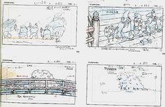 Film: Spirited Away (千と千尋の神隠し) ===== Layout Design - Scene: No! Go Away! We're Closed! ===== Hayao Miyazaki