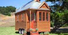 """The Mobile Kermitage"" 140 sq ft, Tumbleweed Tiny House Co. $49,000 goes against the concept, yes?"