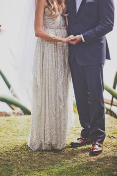 Bohemian Big Sur Wedding | Photo by Evynn LeValley Photography | Read more - http://www.100layercake.com/blog/?p=84558