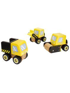 1560fdaa433e BuyJohn Lewis & Partners 3 Wooden Trucks Set Online at johnlewis.com  Wooden Toy