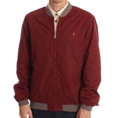 Farah Vintage Wheeler Varsity Jacket www.ark.co.uk