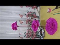 DIY - Centro De Mesa Para 15 Anos, Casamento Etc - YouTube